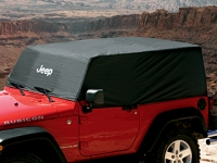 Black Water Resistant Nylon Cab Cover