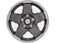17 X 7.5 Cast Aluminum Painted Wheel