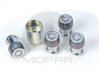 Four Piece Wheel Lock Set
