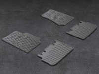 First and Second Row Slush Floor Mats