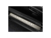Chrysler Logo Door Sill Entry Guards
