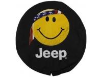 Smiley Face Logo Spare Tire Cover