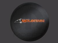 Mountain Logo Spare Tire Cover
