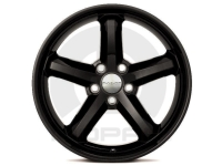 18 Inch Black Rallye 5 Spoke Cast Aluminum Wheel