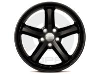 18 Inch Black Rallye 5 Spoke Cast Aluminum Wheel