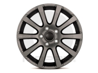 18 Inch 10 Spoke Dark Grey Metallic Wheel