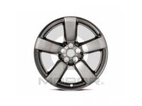 20 Inch 5-Spoke Clad Wheel With Black/Chrome Finish