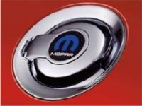 Mopar Logo Chrome Fuel Filler Door
