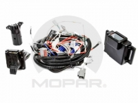 7 Way Trailer Tow Harness With 4 Pin Adapter