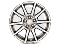 17 Inch Satin Carbon Painted Wheel