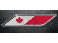 Canadian Logo Fender Badge
