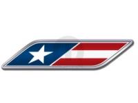 USA Logo Fender Badge