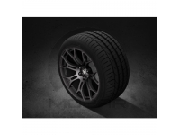 18 Inch Ultralight Hyper Black Finished Forged Aluminum Wheel