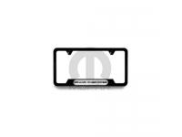 Satin Black Grand Cherokee Logo Licence Plate Frame