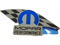 Chrome Plated Mopar Performance Badge