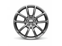 19 X 8 Fully Painted Technical Gray Wheel