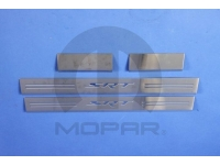 SRT Logo Stainless Steel Door Sill Guards