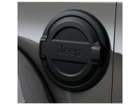 Black Fuel Filler Door