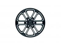 20 Inch Black / Polished Wheel