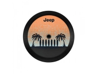 Palm Tree Cloth Spare Tire Cover