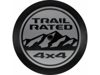 Trail Rated Logo Spare Tire Cover