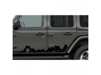 Low Gloss Black Mountain Bodyside Graphic