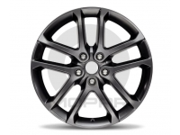 Jet Black Semi Gloss 20 Inch Wheel