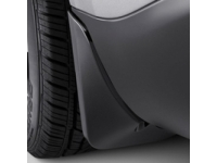 Rear Molded Splash Guard Set