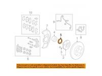Front Wheel Bearing Snap Ring