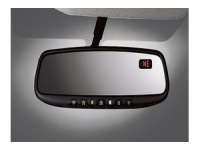 Auto Dimming Rear View Mirror with HomeLink and Compass