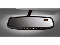 Auto Dimming Rearview Mirror with HomeLink and Compass