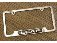 Leaf License Plate Frame