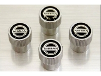 Tire Valve Stem with Nissan Logo