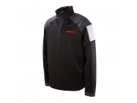 Nissan Mens Performance 1/2 Zip Black Jacket
