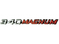340 Magnum Hood Nameplate