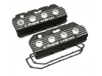 Black Wrinkle Cast Aluminum Valve Cover Set