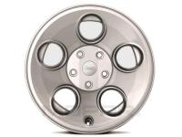 17 X 8.5 Classic 5 Hole Silver Wheel
