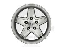 17 Inch Classic 5 Spoke Cast Aluminum Silver Wheel