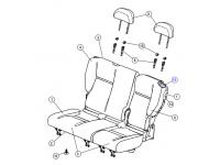Rear Seat Release Bezel
