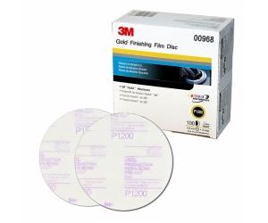 3M Hookit P1200 Gold Finishing Discs