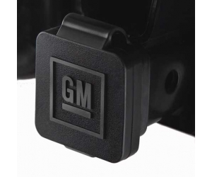 GM Logo Hitch Receiver Plug