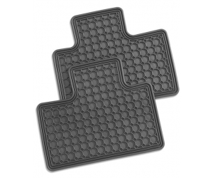 Rear All Season Rubber Floor Mats