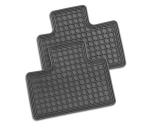 Rear All Season Rubber Floor Mats
