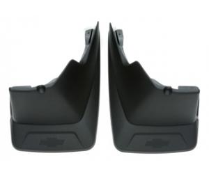Black Grained Molded Rear Splash Guards