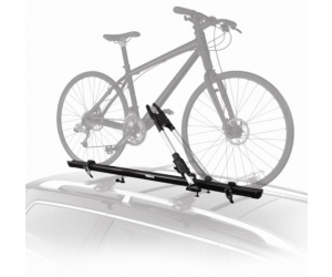 Roof-Mounted Bicycle Carrier