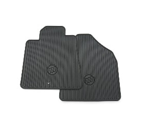 Front All Season Rubber Floor Mats