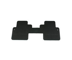 Second Row All Season Rubber Floor Mats