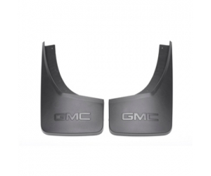 Rear Black Grained Molded Splash Guards