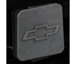 Hitch Receiver Cover with Chevrolet Logo