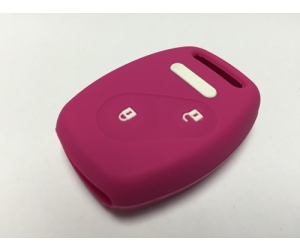 Pink 2 Button Fob Cover